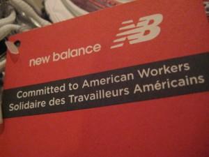 New Balance USA tag
