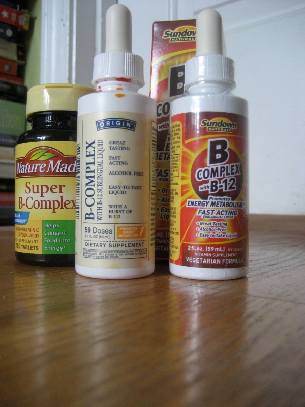 from left to right: Nature Made tablets, Origin, and Sundown naturals