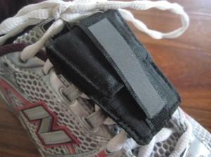 Perfect little shoe pocket.