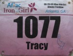 Iron Girl Bib
