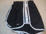 Old Nike Tempo Shorts, Side View. Remember these?