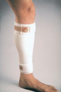 Shin Splint Compression Sleeve - Cho-Pat - Two foam core straps